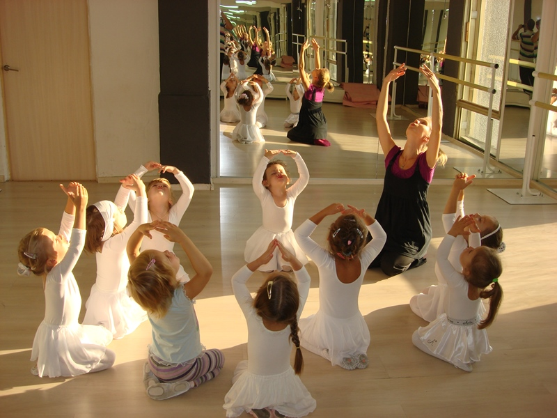 Урок хореографии дети 4-6 лет