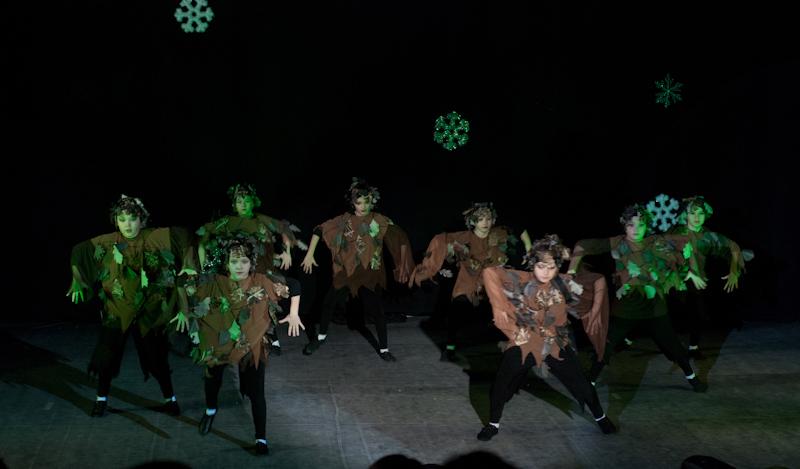Танец лесных жителей